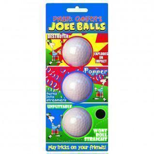 Lot de 3 Balles Longridge farceuses