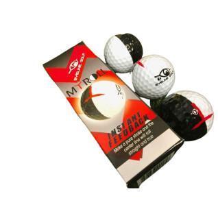 Pack de 3 balles EyeLine Golf