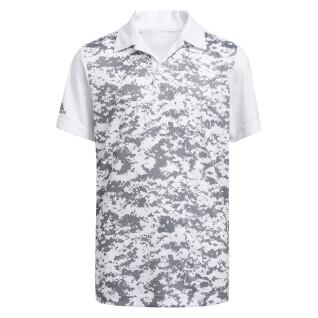 Polo garçon adidas Digital Camouflage