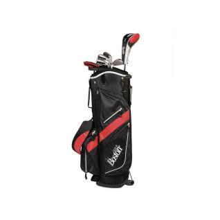 "Kit (sac + 8 clubs) gaucher Boston Golf deluxe 8.5"" 1/2 série"