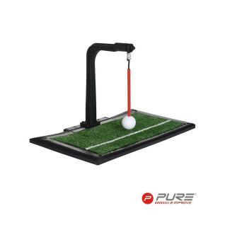 Swing trainer intérieur/extérieur et hitting mat Pure2Improve
