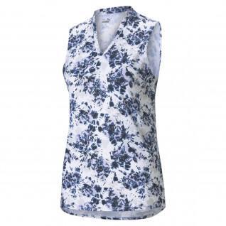 Polo femme Puma Floral Tie